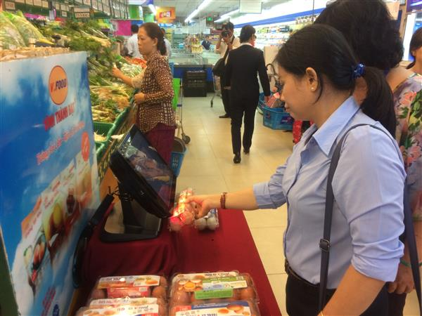 TP.HCM: Công bố trên 1.700 điểm bán thịt, trứng gia cầm truy xuất nguồn gốc