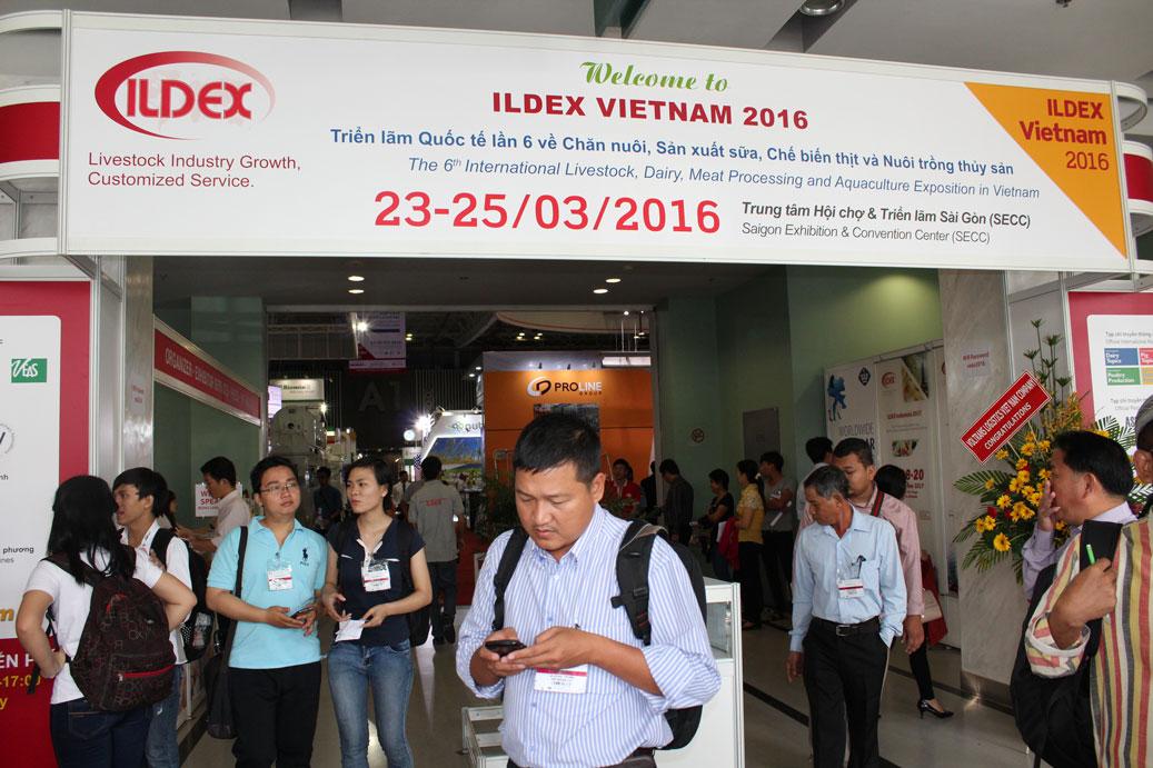 hội trợ triển lãm quốc tế ILDEX VIETNAM 2016