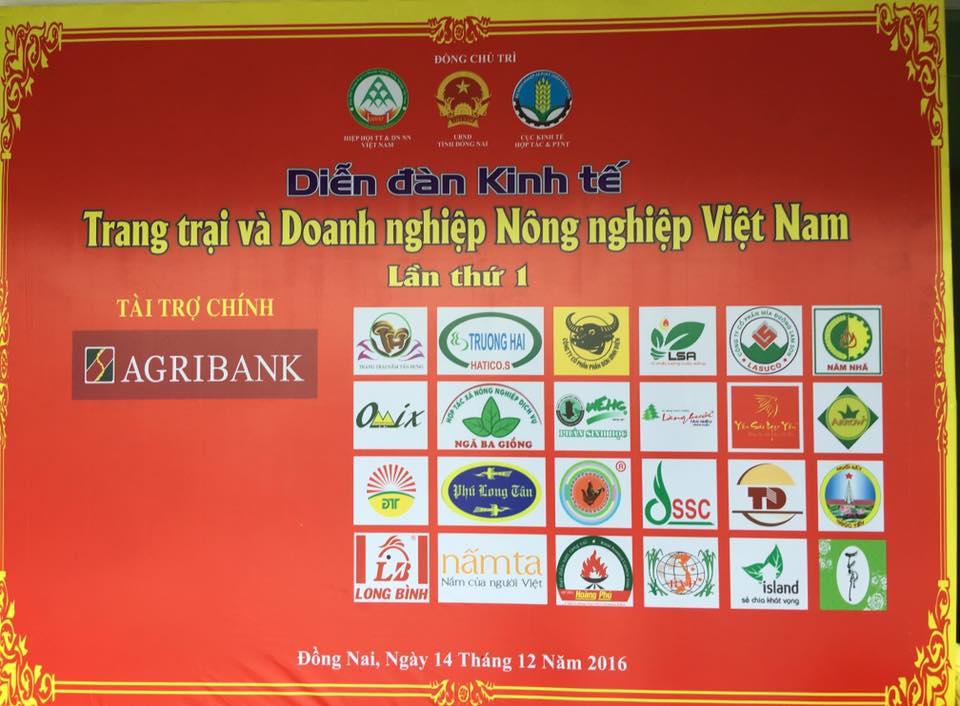 Diễn Đàn Kinh Tế Trang Trại và Doanh Nghiệp Nông Nghiệp Việt Nam