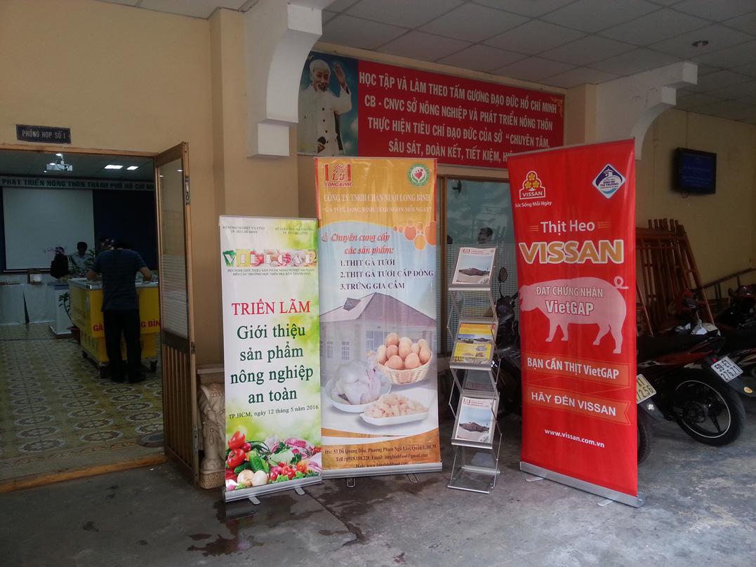 Hội nghị quảng bá thông tin gà tươi Long bình theo chuẩn VietGAP